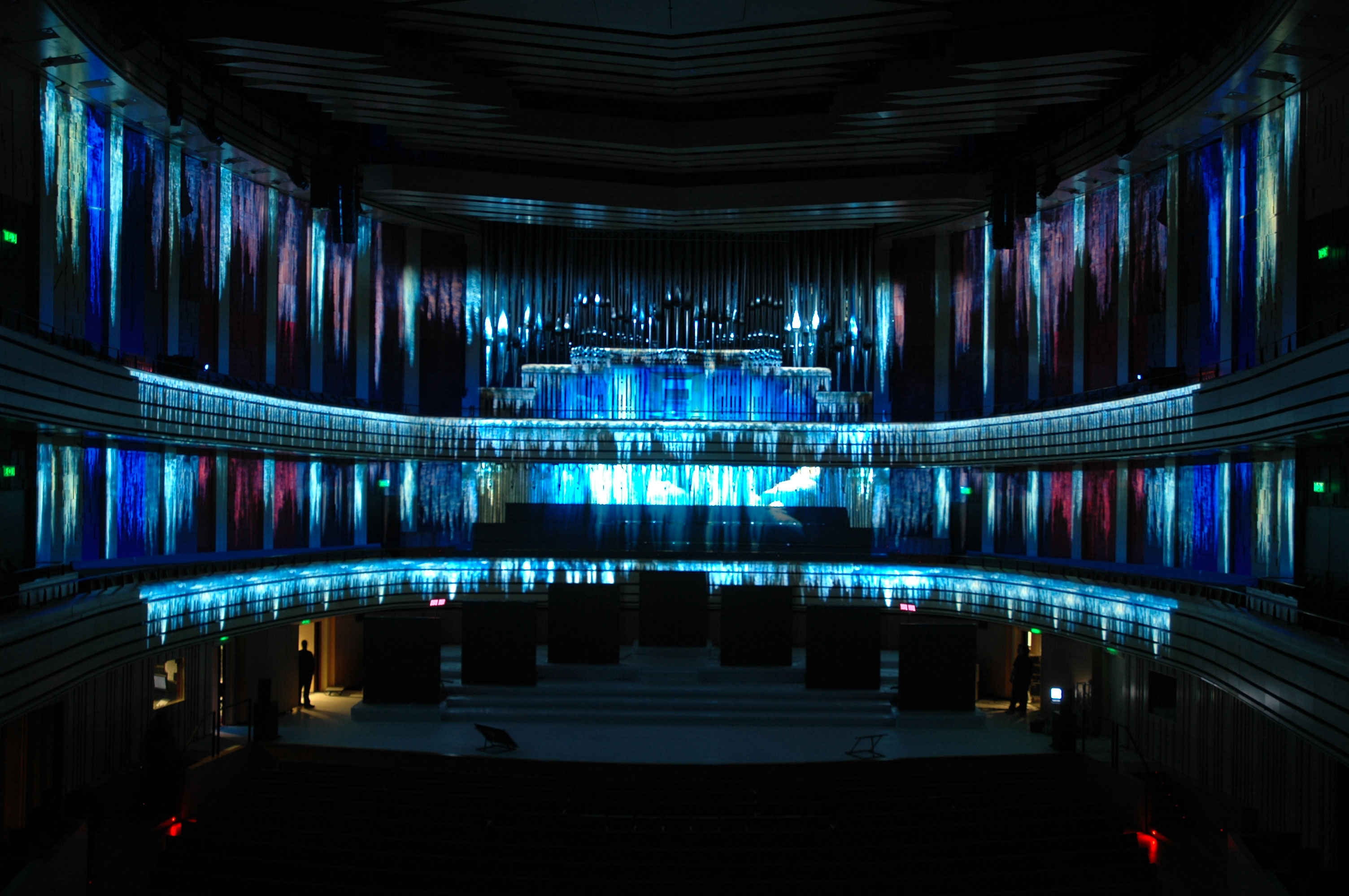 D Projection Mapping D Projection Mapping And D Projection - Projection mapping turns chapel into stunning work of contemporary art